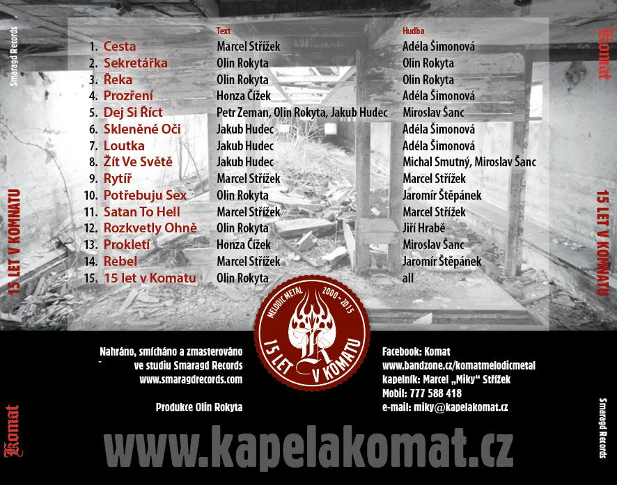 CD - KOMAT 15 LET